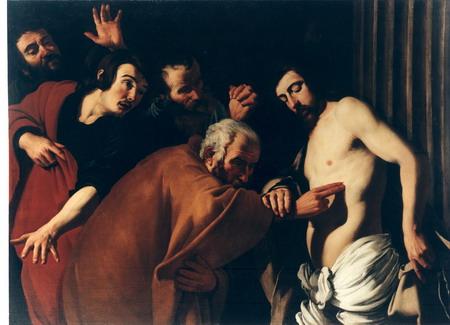 Incredulita' di San Tommaso - Dirck van Baburen